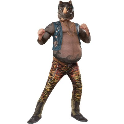 Teenage Mutant Ninja Turtles TMNT 2 Deluxe Rocksteady Child Costume