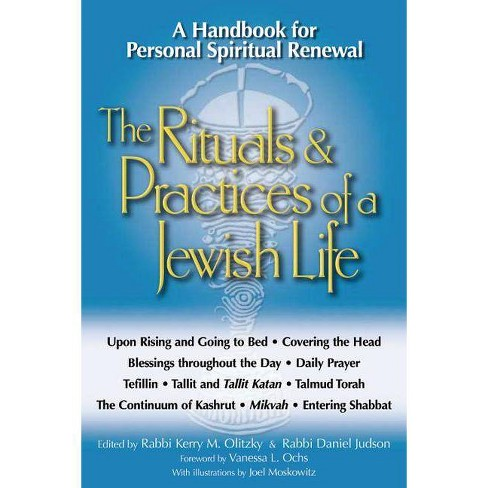 The Rituals & Practices of a Jewish Life - (Paperback) - image 1 of 1