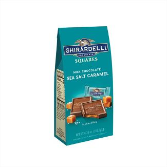 Ghirardelli Milk Chocolate Sea Salt Caramel Squares - 6.3oz