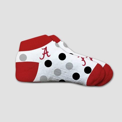 NCAA Alabama Crimson Tide Polka Dot Infant Socks 2T-4T - image 1 of 1