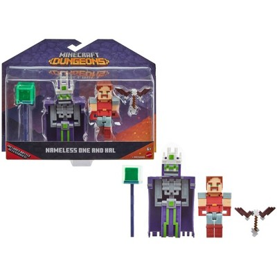 Minecraft Dungeons Nameless One & Hal Figure 2pk