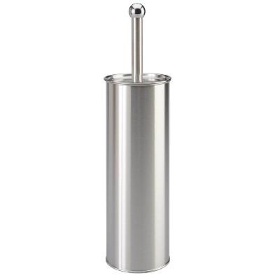 Toilet Brush Holder Stainless Steel - Bath Bliss