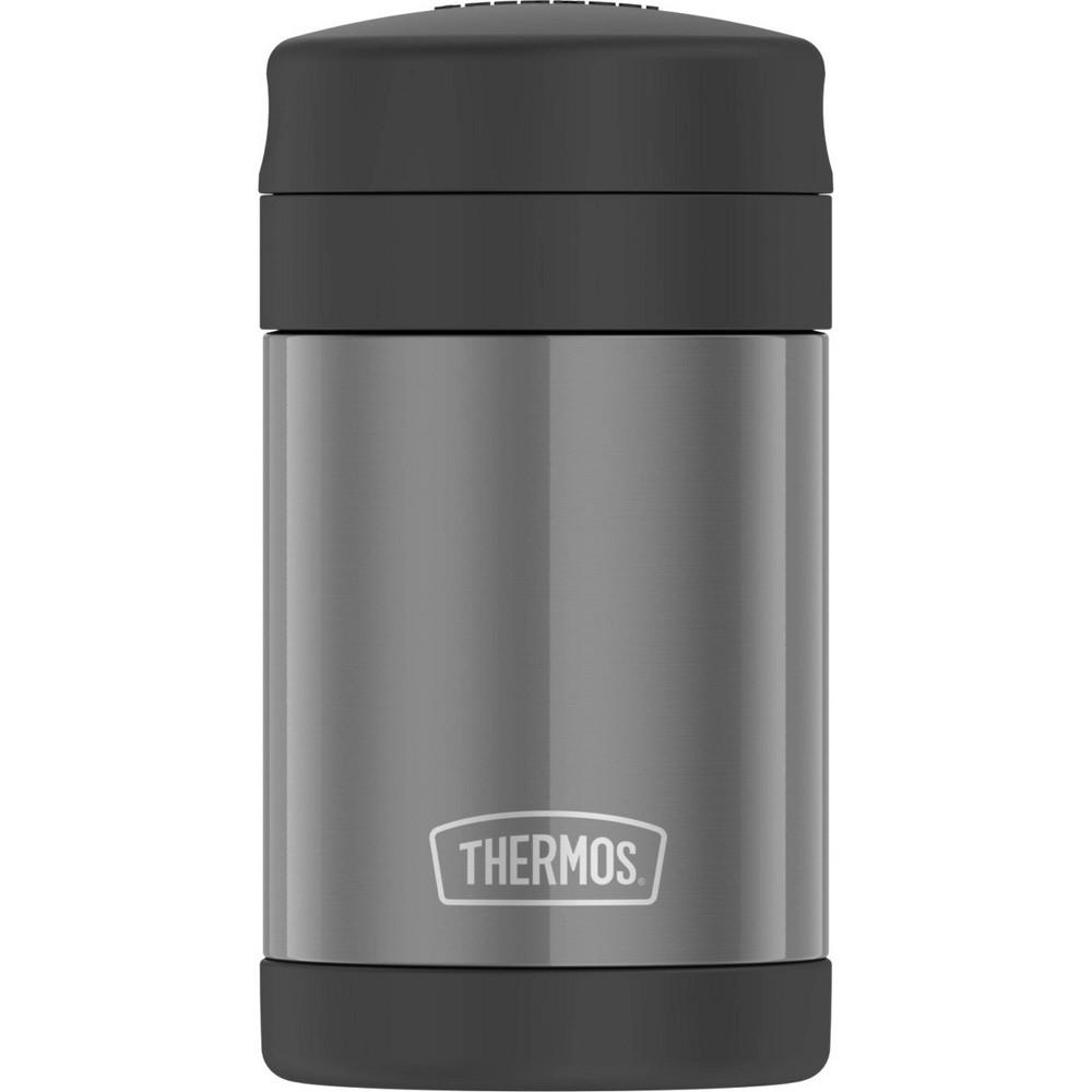 Thermos 16oz Stainless Food Jar - Smoke, Gray Thermos 16oz Stainless Food Jar - Smoke, Gray Pattern: Solid.