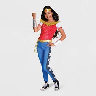 Girls' DC Super Hero Girls Wonder Woman Halloween Costume S