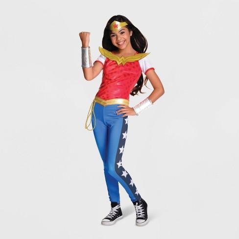 b88e99fc248 Girls' DC Super Hero Girls Wonder Woman Halloween Costume