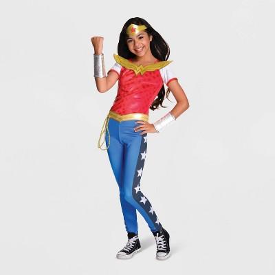 Girlsu0027 DC Super Hero Girls Wonder Woman Halloween Costume
