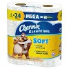 Charmin Essentials Soft Toilet Paper - 6 Mega Rolls - image 2 of 4