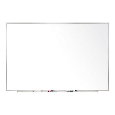 Ghent Non-Magnetic Whiteboard with Aluminum Frame 4'H x 5'W M2454