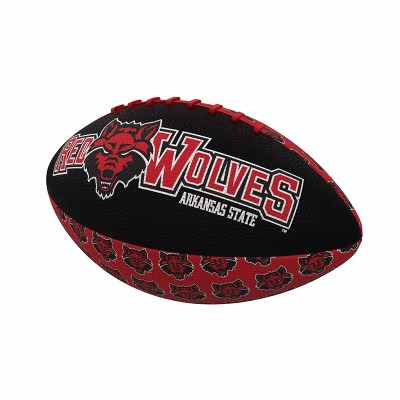 NCAA Arkansas State Red Wolves Mini-Size Rubber Football