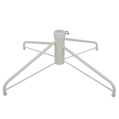 Northlight White Metal Christmas Tree Stand for 12' Artificial Trees