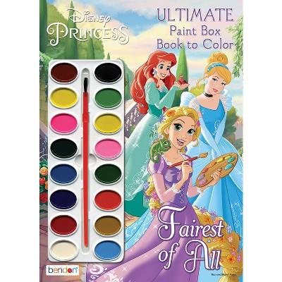 Disney Princess Paintbox Book - Target Exclusive Edition