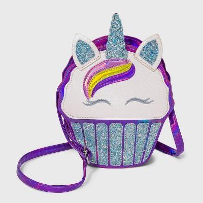 Girls' Unicorn Cupcake Crossbody Bag - Cat & Jack™