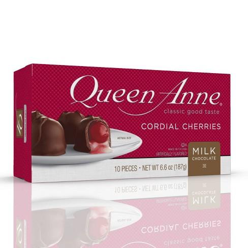Queen Anne Christmas Milk Chocolate Cordial Cherries - 6.6oz - image 1 of 3