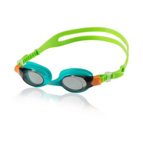 Speedo Kids Scuba Giggles Goggle - Turquoise/Lime - image 1 of 1