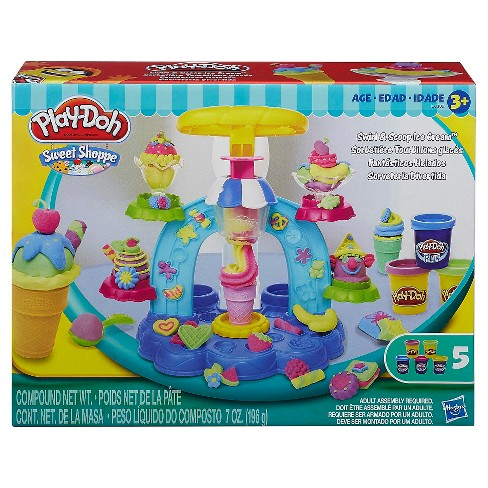 Play-Doh Sweet Shoppe Swirl and Scoop Ice Cream Playset - image 1 of 4
