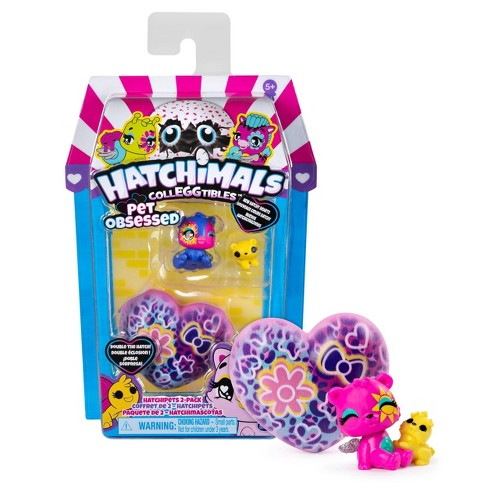 Hatchimals CollEGGtibles Pet Obsessed HatchiPets 2pk Blind Pack - image 1 of 4