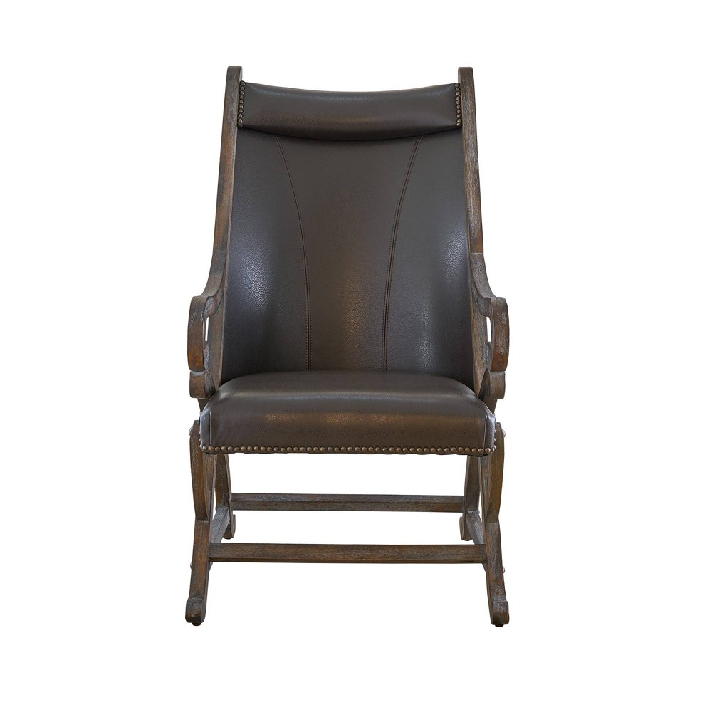 Odessa Chair And Ottoman Set Gray Picket House Furnishings