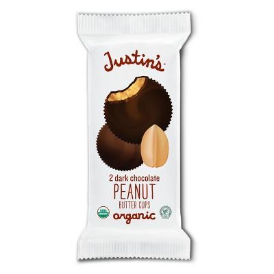 Justin's Organic Dark Chocolate Peanut Butter Cups - 1.4oz