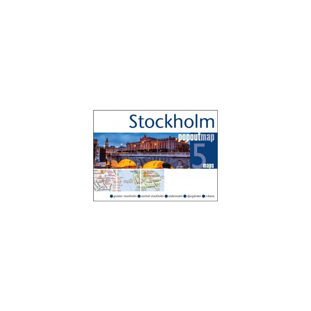 Popout Map Stockholm - Map Rev (Popout Maps) (Paperback)
