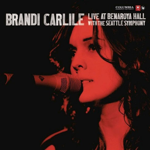 Brandi Carlile - Live at Benaroya Hall with the Seattle Symphony (CD) - image 1 of 1