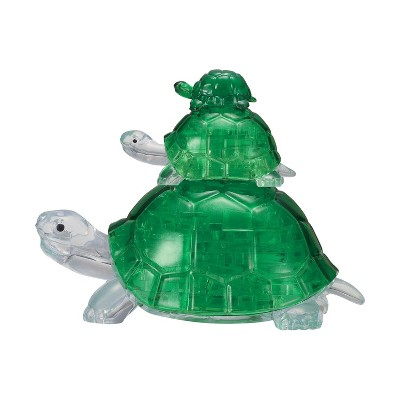 University Games Turtles 37 Piece 3D Crystal Jigsaw Puzzle