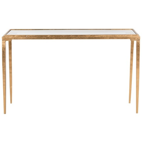 Garrick Coffee Table Gold/Clear - Safavieh® - image 1 of 4