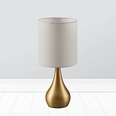 Selma Modern Touch Table Lamp with Linen Drum Shade - Versanora