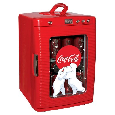 Coca-Cola 28-Can Countertop Refrigerator - Red