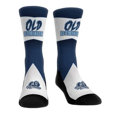 NCAA Old Dominion Monarchs Adult Battle Call Crew Socks - L/XL