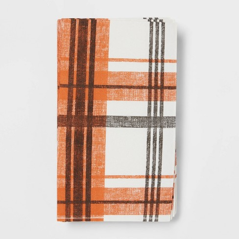16ct Paper Plaid Disposable Guest Towels - Threshold™ - image 1 of 3