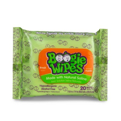 Boogie Wipes Travel Pack - 20ct