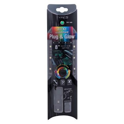"Type S 8"" Automotive LED Cabinet Light Strip"
