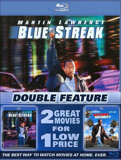 Blue streak/National security (Blu-ray) - image 1 of 1