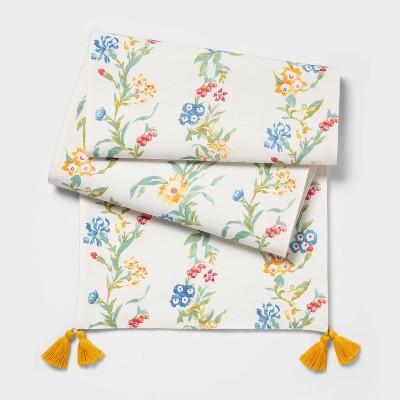 """14""""x72"""" Floral Table Runner Vine - Opalhouse™"""