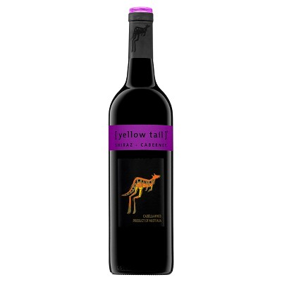 Yellow Tail Shiraz/Cabernet Red Blend Wine - 750ml Bottle