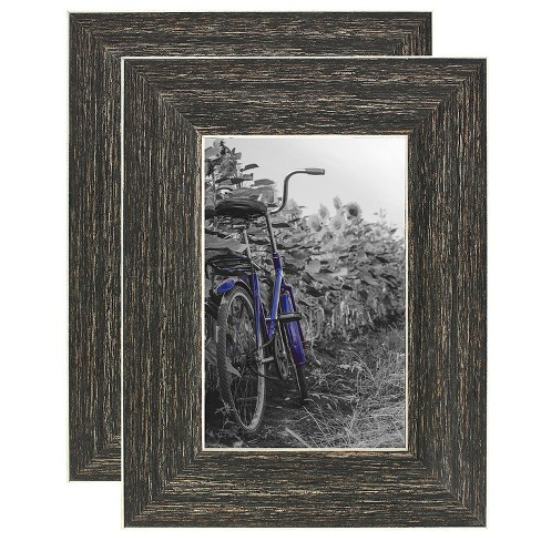 Americanflat Picture Frame - Lead Free Polished Glass for Wall and Tabletop - Offered In Many Sizes & Multipacks - Set of 2 - image 1 of 4