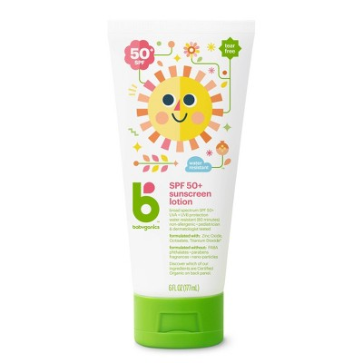 Babyganics Mineral-Based Baby Sunscreen Lotion, SPF 50 - 6 fl oz