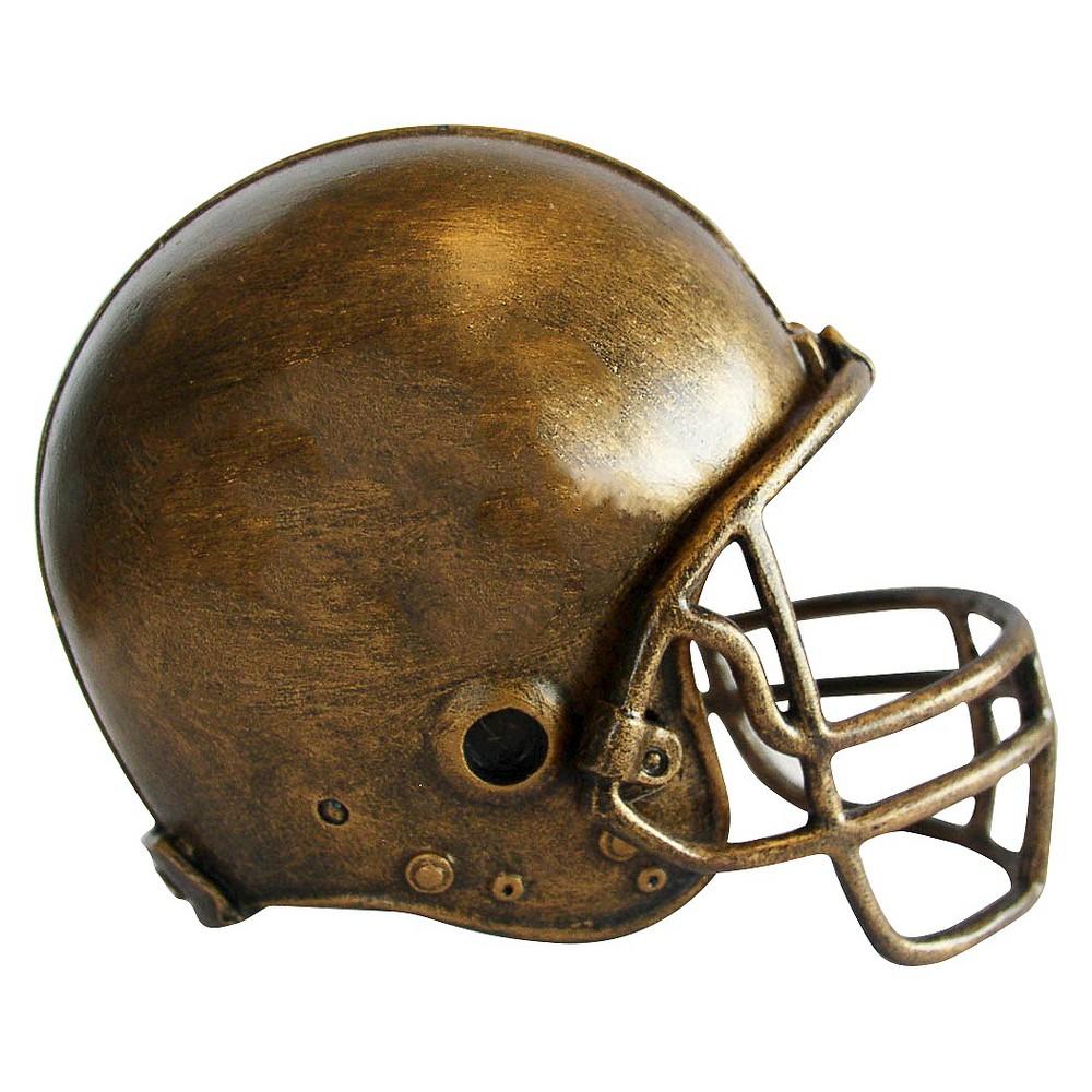 NFL Mini Bronze Helmet Statue Sport Memorabilia Cleveland Browns