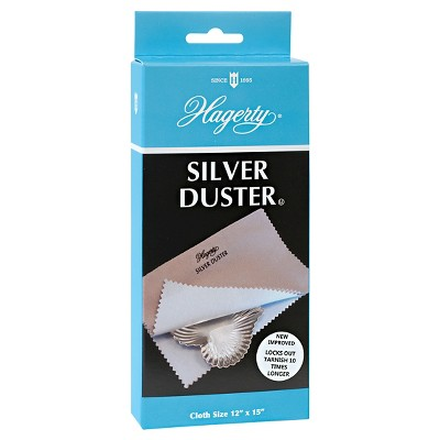 "Hagerty 12"" x 15"" Silver Duster"