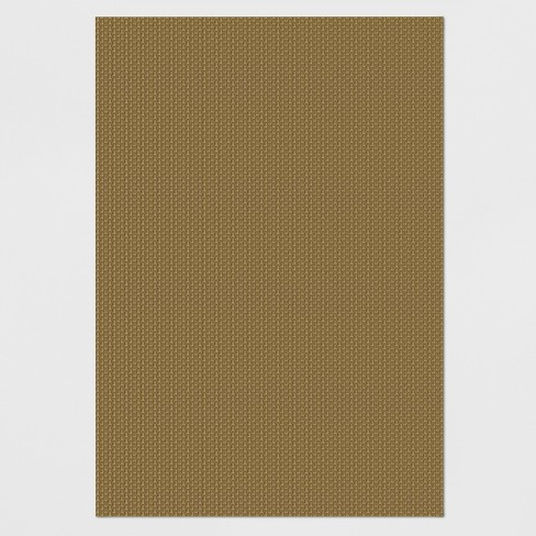 Basketweave Outdoor Rug Hickory - Smith & Hawken™ - image 1 of 4