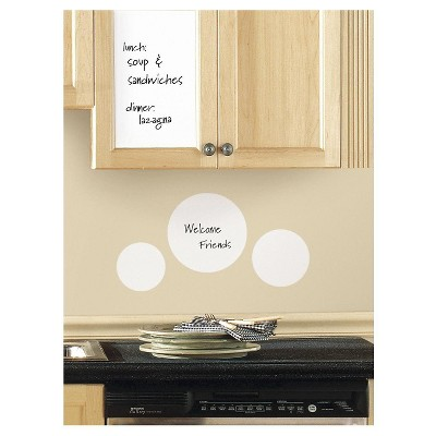 RoomMates Dry Erase Sheet Peel & Stick Wall Decal (17.5  x 24 )