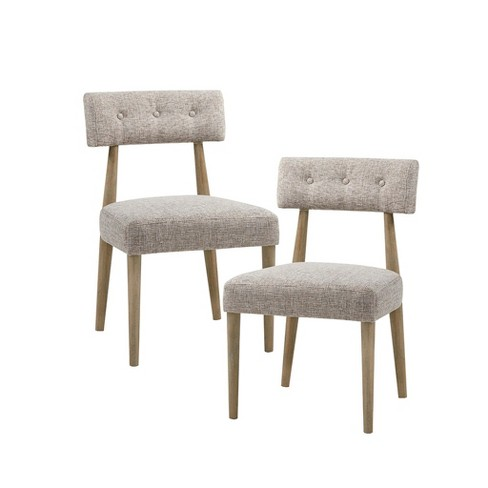 Set of 2 Jayron Dining Side Chair Cream - image 1 of 9