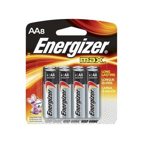 energizer max aa batteries 8 ct target