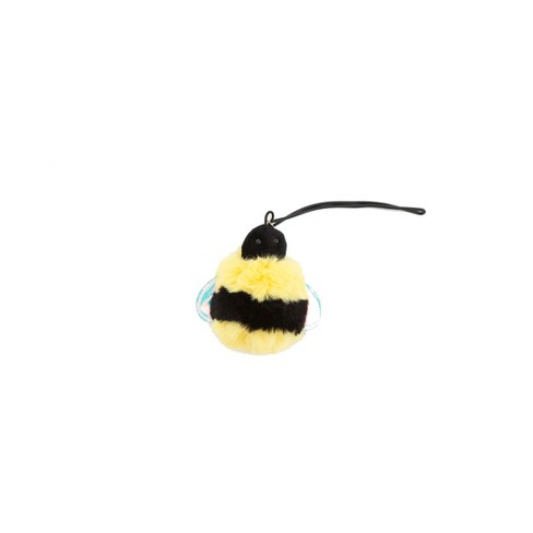 Path Pom Pom Luggage Tag Flair - Bee - image 1 of 1