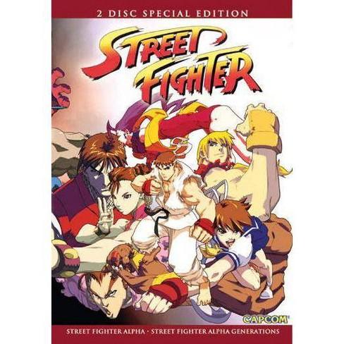 Street Fighter Alpha 2 Dvd Target