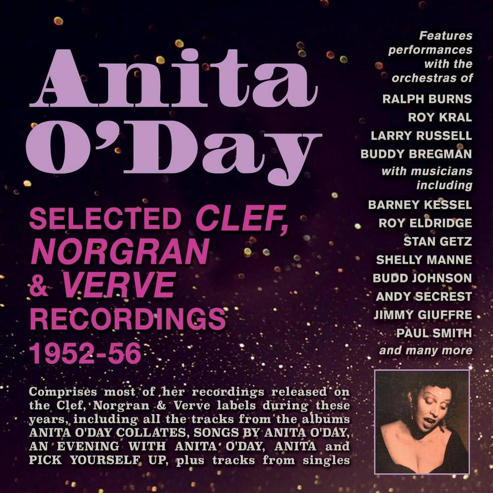 O Day Anita Selected Clef Norgran Verve Recordings 1952 56 Cd