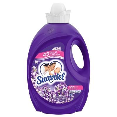 Suavitel Scented Liquid Fabric Softener and Conditioner - Soothing Lavender - 120 fl oz