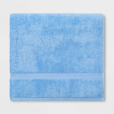 Soft Solid Bath Sheet Light Blue - Opalhouse™