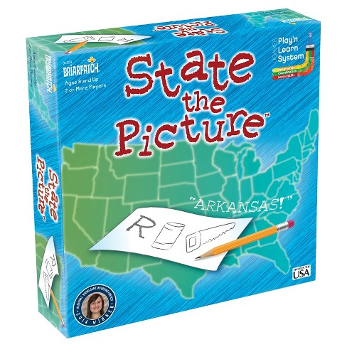 Briarpatch State the Picture Board Game - image 1 of 2