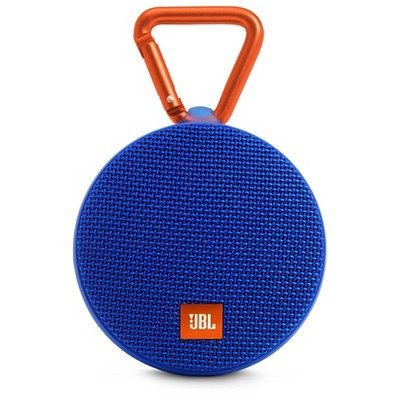 JBL Clip 2 Waterproof Bluetooth Speaker - Blue